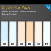 LEE Lighting Filter - Studio Plus Pack